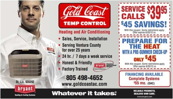 Thousand Oaks AC Repair & Ventura HVAC
